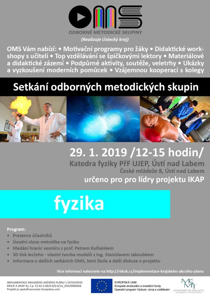 Vzdělávání, věda a výzkum | OMS Fyzika Ústí nad Labem | RSKÚK cz
